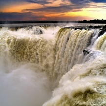 Devil's Throat - Iguazu Falls, Brazil - Argentina border.