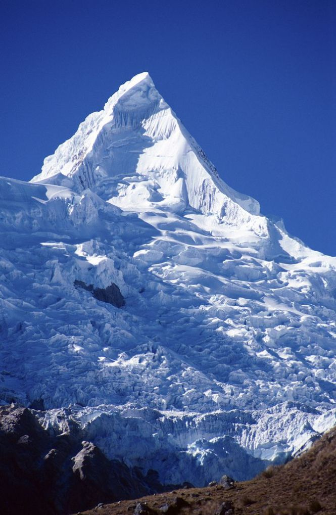 Alpamayo in the Cordillera Blanca