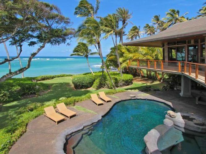 North Shore Beachfront Home
