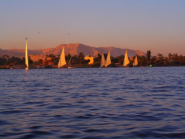 The River Nile, Luxor, Egypt