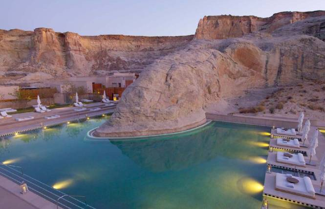 The Amangiri resort in Utah