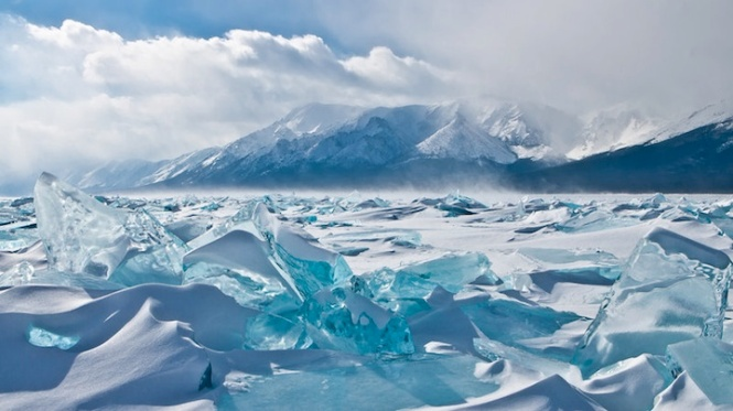 Its a frozen lake with 1/5th of the world's freshwater.