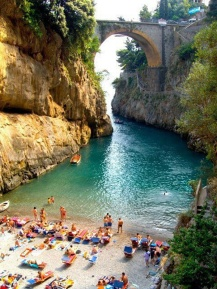 Beautiful Beach, Furore, Amalfi Coast – Italy