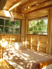 cabin small ontario tiny house camp shed fort
