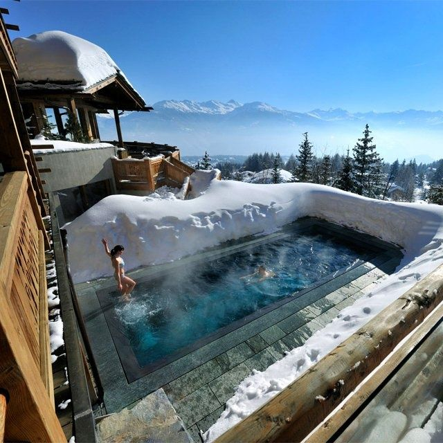 Lecrans hotel & spa, Switzerland
