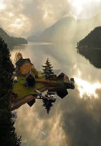 Fjord House, that is near Notodden, Telemark, Norway
