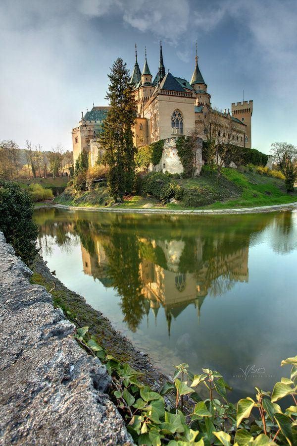 Bojnice city, Slovakia, EU.