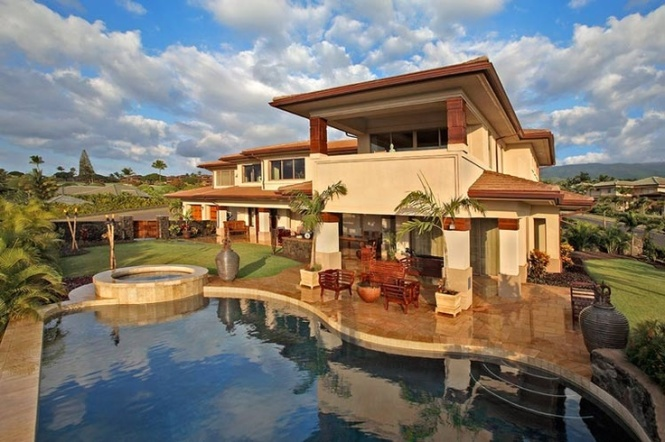 Hawaiian style amazing nature for Hawaii home building packages