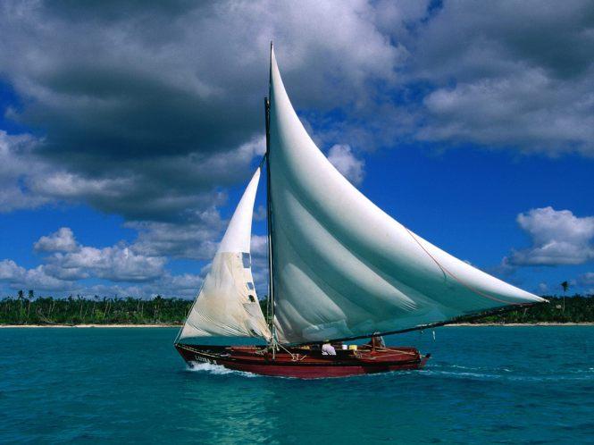 Fishing Sailboat Dominican Republic