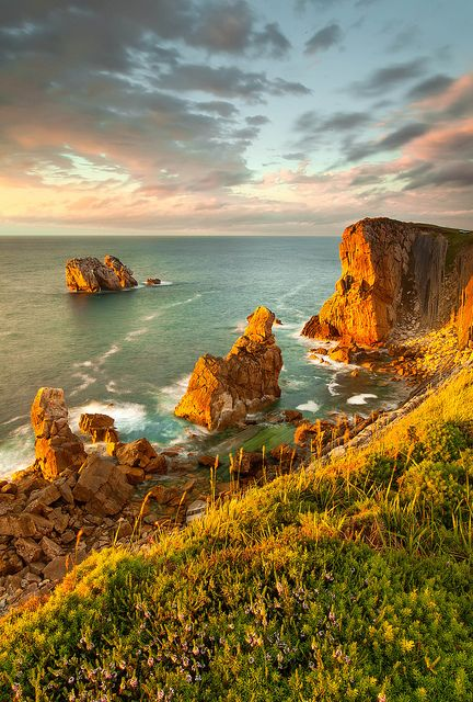 Costa Quebrada, Cantabria, Spain