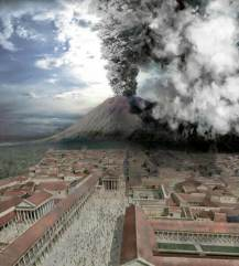 Since the eruption of the 'still active' volcano - Vesuvius, on the 24th August 79 AD,