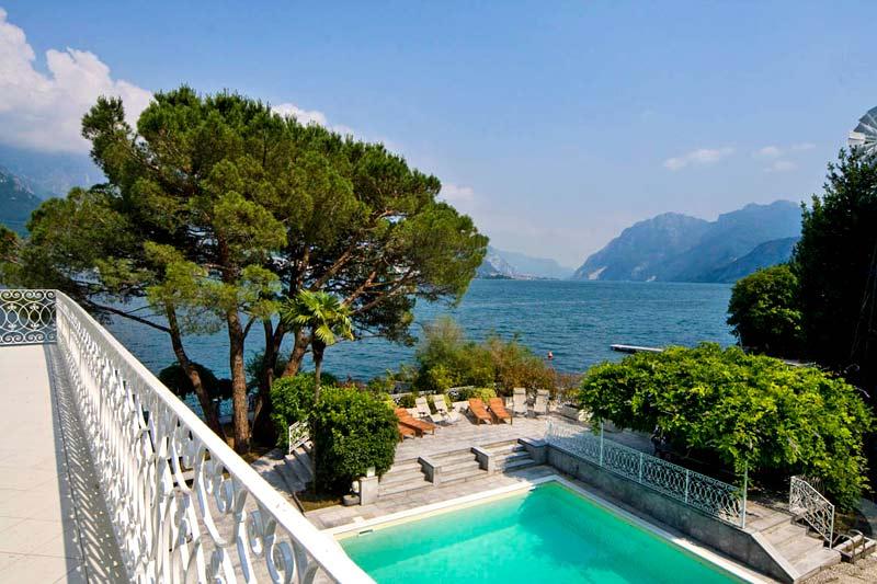 Villa Del Balbianello Italy Amazing Nature