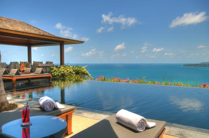 Luxury seaview villa, Phuket, Thailand