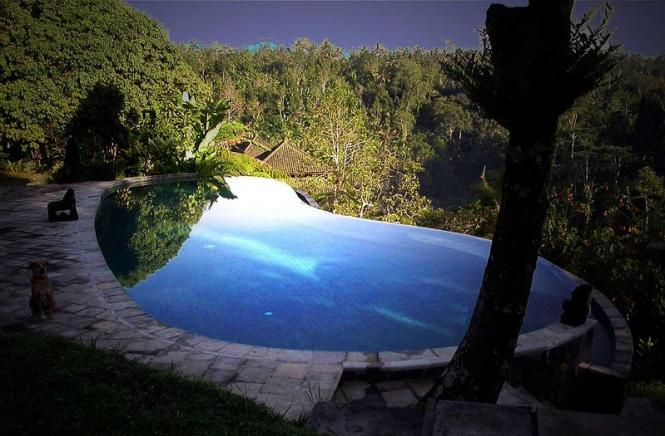 The Ubud Hanging Gardens pools in Bali