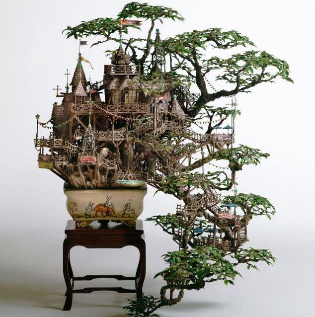 Bonsai Turned Into Stunning Miniature World