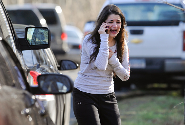 The sister of a a teacher at Sandy Hook learns that she was killed.