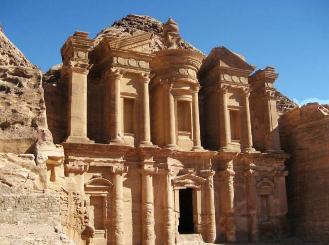Ad-Deir or better known as the monastery, which has a similar facade to