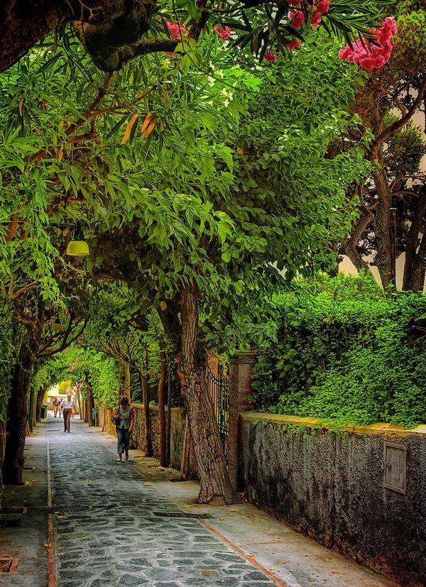 The Isle of Capri, Italy.