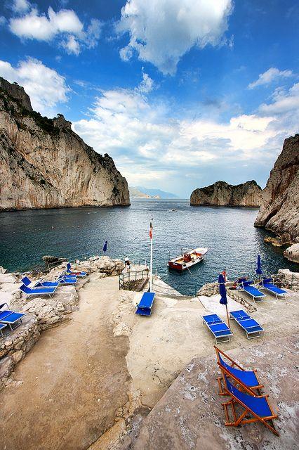 Capri, Italy, province of Naples, Campania