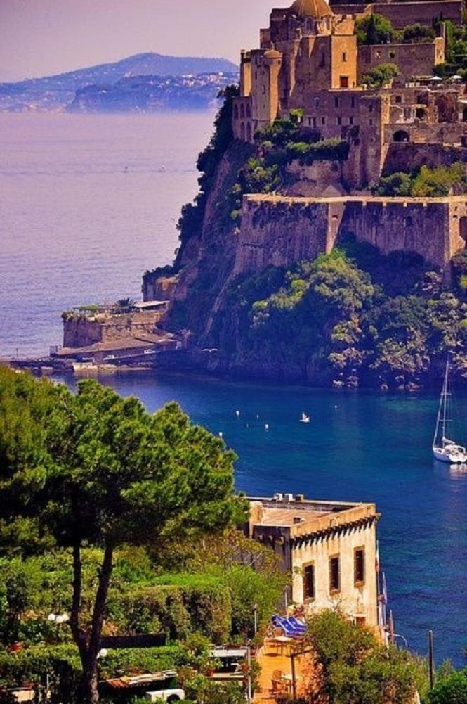 Ischia, Italy a beautiful island off the coast of Naples, next to Capri