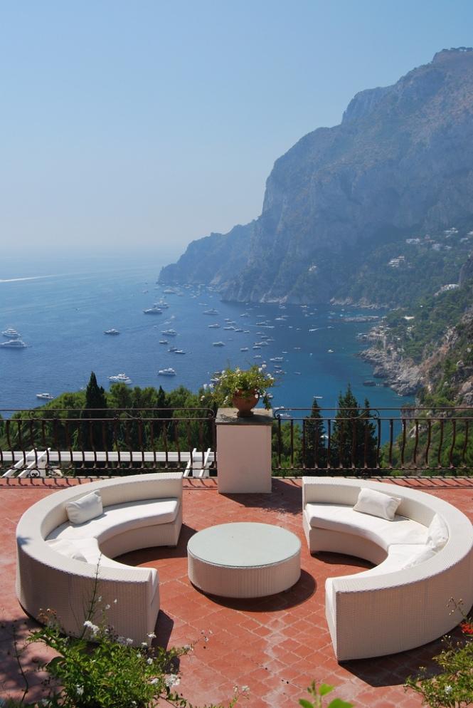 Capri , Naples province Campania region italy