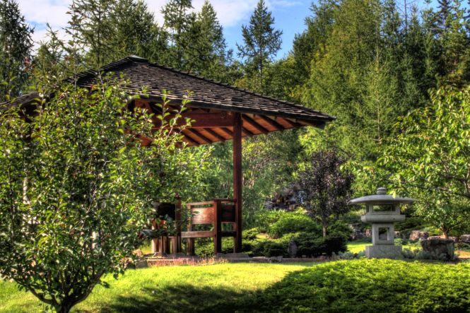 Japanese Garden Devonian Botanic Garden Edmonton Alberta Canada