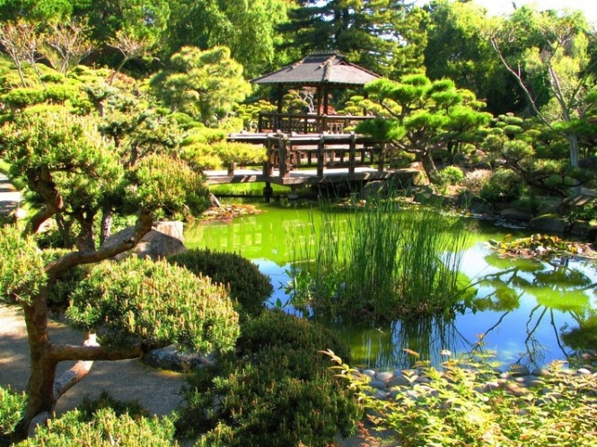 Japanese garden city