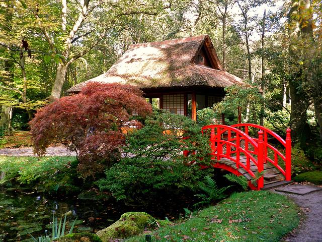 The 90-acre park's Nishinomiya Japanese Garden took shape in 1974 in honor of Nishinomiya, Spokane's sister city in Japan