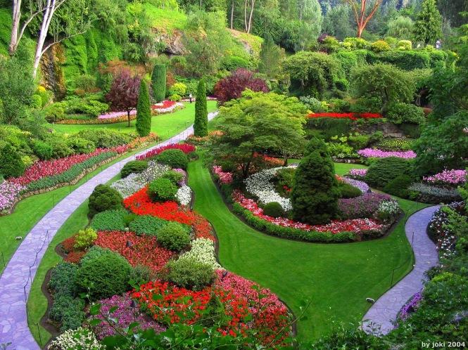 Butchart Gardens, Vancouver Island. Denver Botanic Garden, Denver