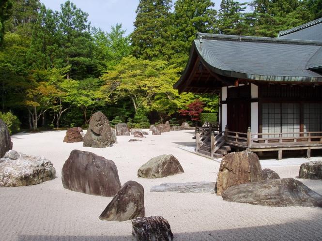 Kongobuji Temple, Koyasan, Japan - Banryutei rock garden