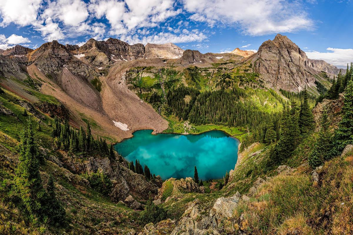 Blue Lake Grandeur, Colorado - Amazing Nature