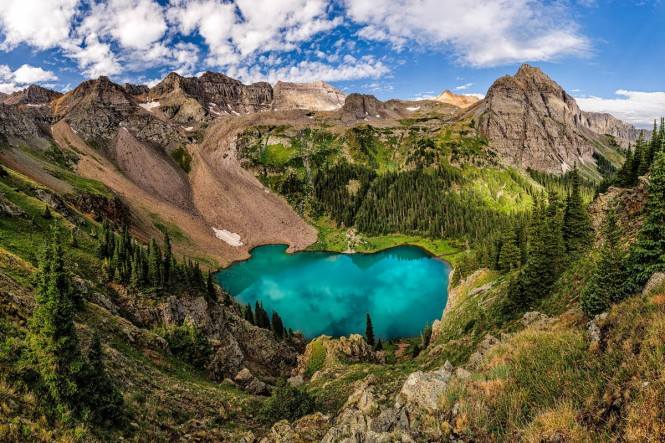 Blue Lake Grandeur