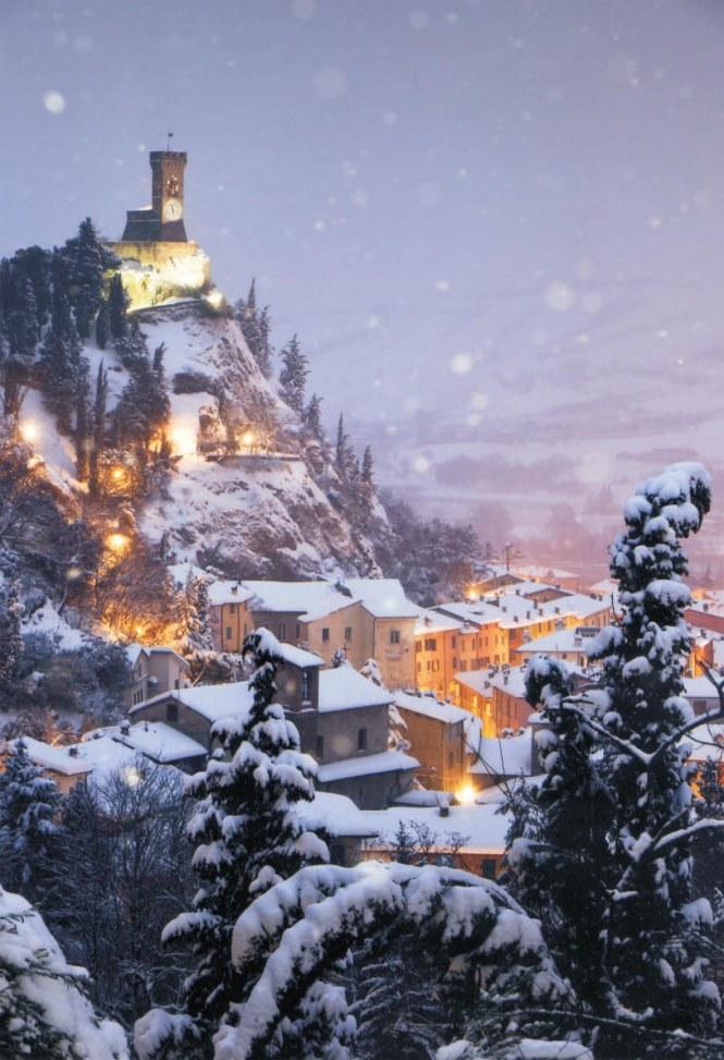 Brisighella, Innevata, Italy