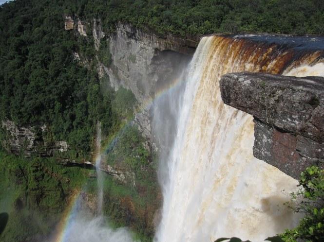 Kaieteur Falls closeup