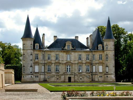 """""""Chateau Pichon Longueville"""", a famous Médoc wineyard near Bordeaux"""