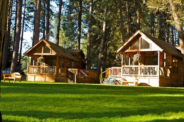 Cold Springs Resort offers the true cabin experience only feet from the spring-fed Metolius River.
