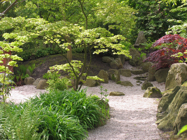 Japanese and botanic gardens amazing nature for Botanical garden design
