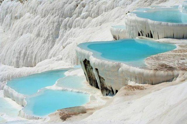 Pamukkale Natural Rock pools, Turkey