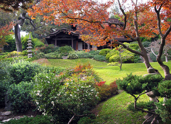The Huntington's Japanese Garden in San Marino, California.