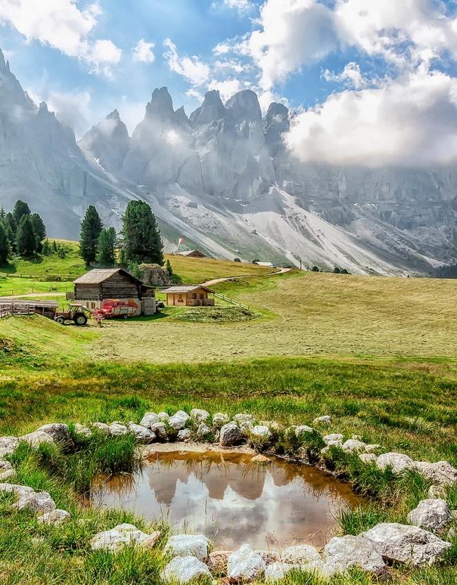 Villnöss Funes Italy