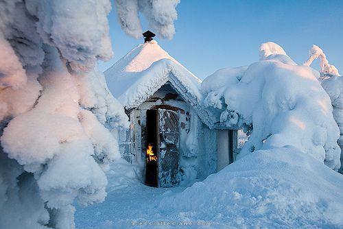 Snow Cabin, Salla Tunturi, Finland