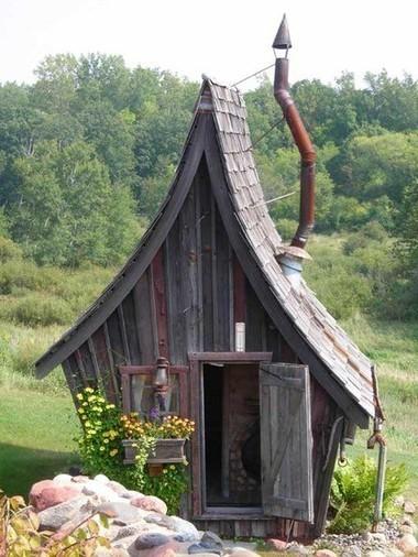 Fairy Tale Garden Shed