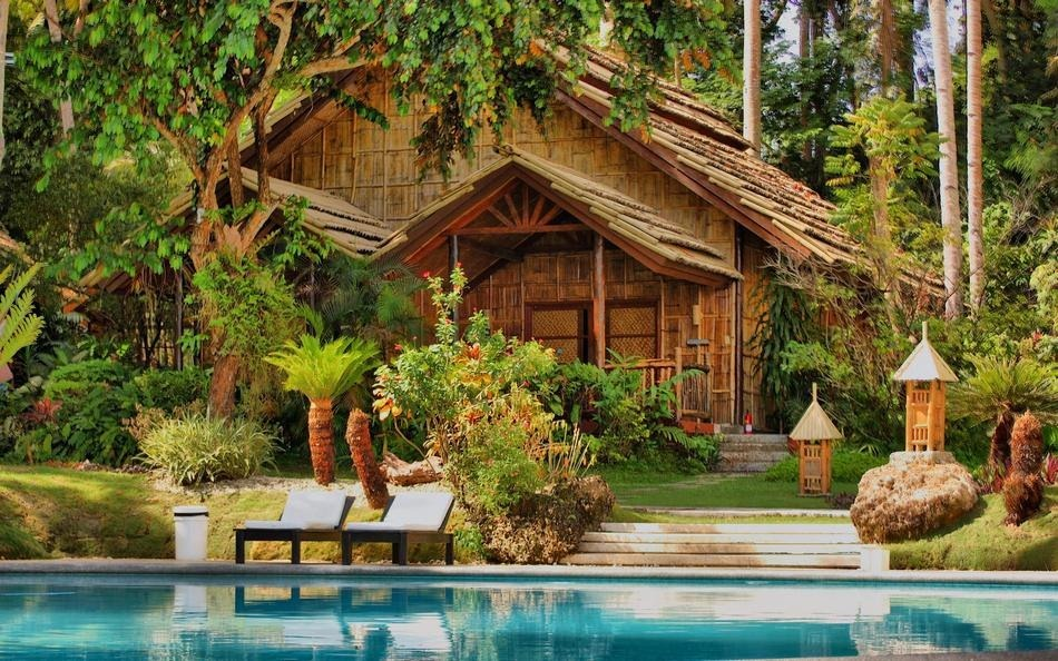 10 most beautiful forest houses amazing nature for Wallpaper home philippines