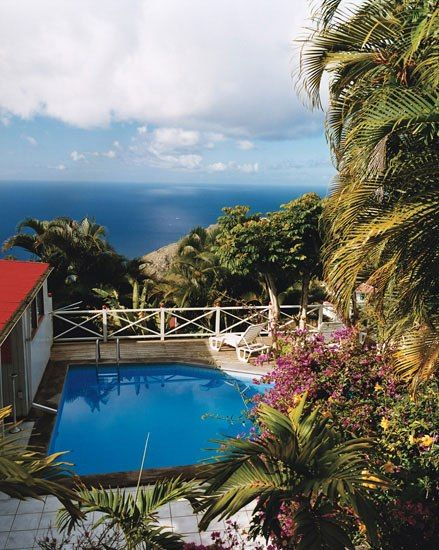 Ladder Bay, Saba Dutch Caribbean