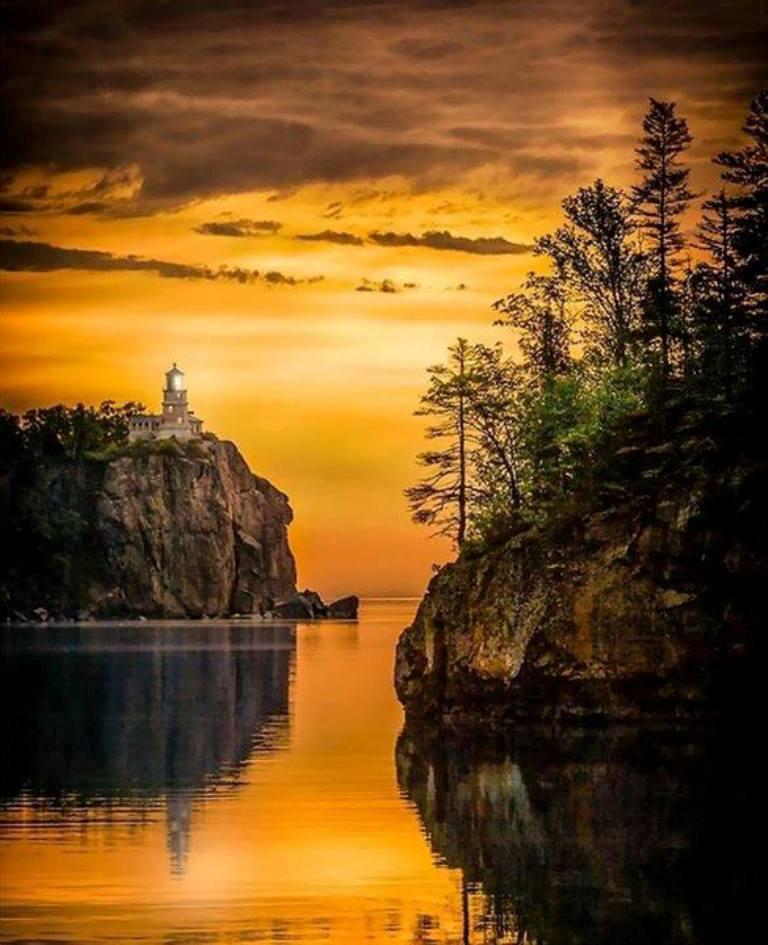Split Rock Lighthouse, Minnesota, USA