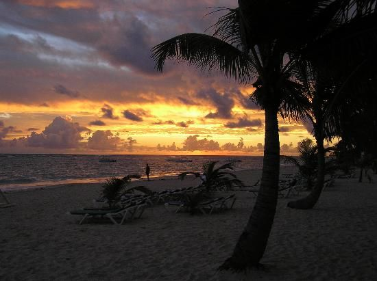 Sunset, Punta Cana, Dominican Republic