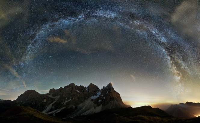 Starry Nights Over Italy -  Dolomites
