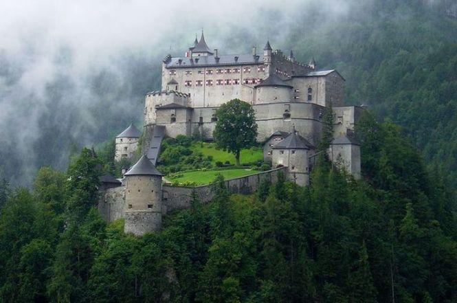Medieval, Hohenwerfen Castle, Salzburg, Austria