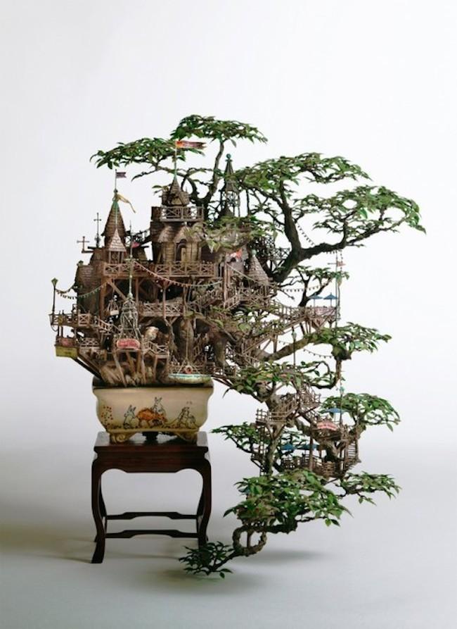 Mini Tree Houses